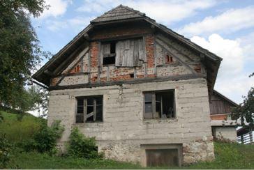 Stane Grandljič: Stare mestne hiše in vaške hiše